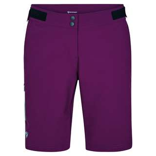 Ziener NIVIA X-FUNCTION Fahrradshorts Damen purple passion