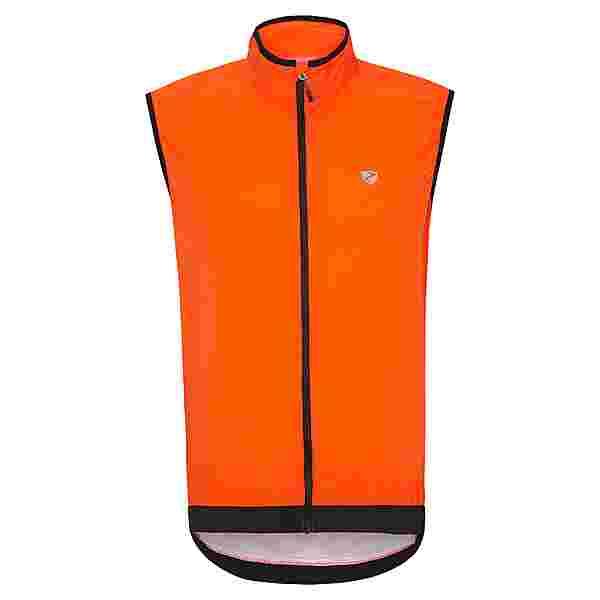 Ziener NECHAMUS Fahrradweste Herren orange pop