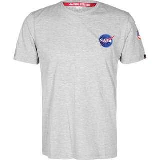 Alpha Industries Space Shuttle T-Shirt Herren grau/meliert