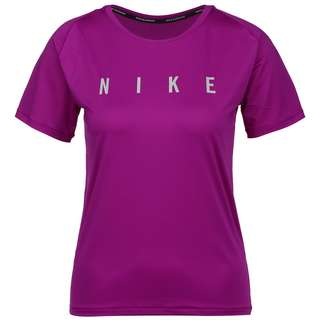 Nike Miler Run Division Funktionsshirt Damen red plum-reflective silv