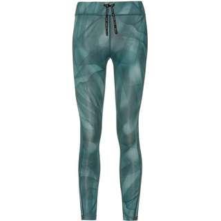 Nike Epic Faster Lauftights Damen dark teal green-reflective silv
