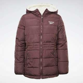 Reebok Reversible Puffer Jacket Outdoorjacke Damen Rot