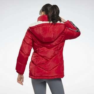 Reebok Cozy Puffer Jacket Outdoorjacke Damen Rot