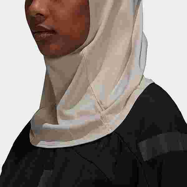 adidas Sport-Hidschab 2.0 Hijab Damen Beige
