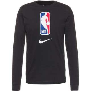 Nike NBA N31 Langarmshirt Herren black