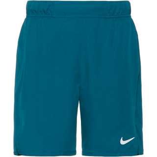 Nike Court Flex Victory Tennisshorts Herren green abyss-white