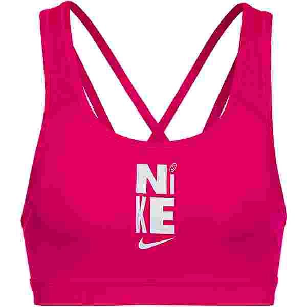 Nike SWOOSH BH Damen fireberry-white