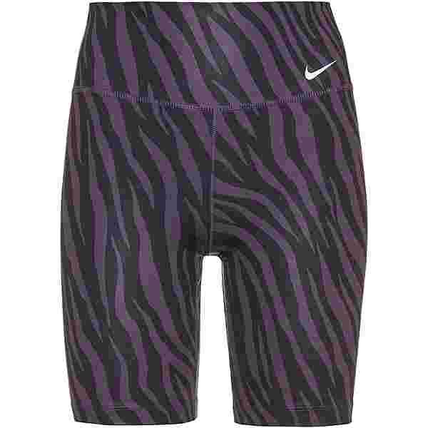 "Nike ONE 7"" Funktionsshorts Damen dark raisin-white"
