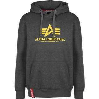 Alpha Industries Basic Hoodie Herren grau/meliert