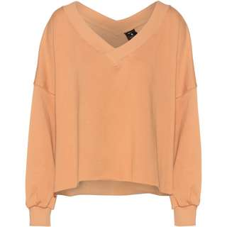Nike YOGA OFF MAT FLEECE Funktionssweatshirt Damen praline-shimmer