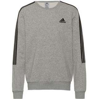adidas ESSENTIAL Sweatshirt Herren medium grey heather-black