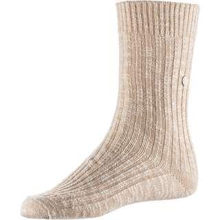 Birkenstock Cotton Slub Sneakersocken Damen beige-white