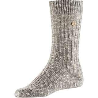 Birkenstock Cotton Slub Sneakersocken Damen grey-white