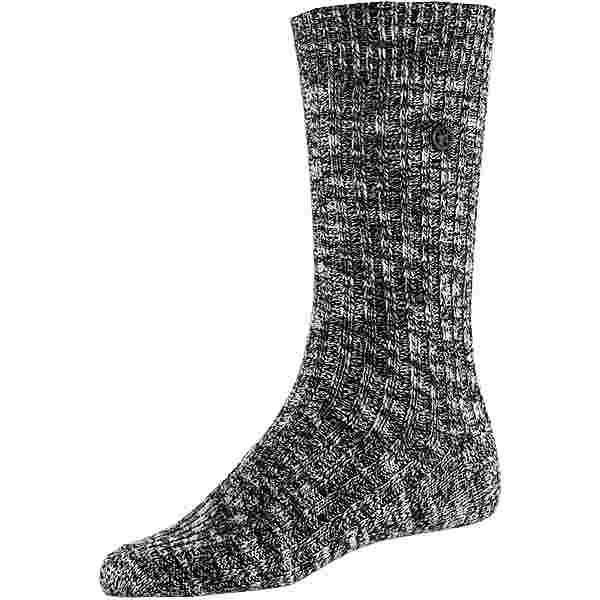 Birkenstock Cotton Slub Sneakersocken Damen black-grey