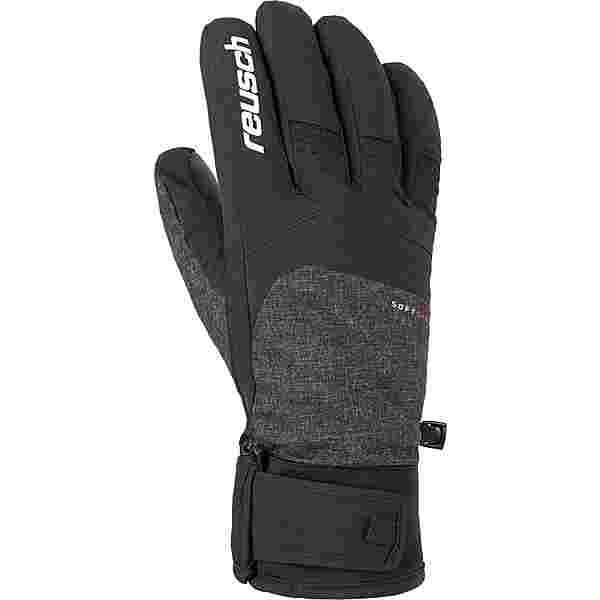 Reusch Ryan Meida® Dry TOUCH-TEC™ Skihandschuhe black melange / black