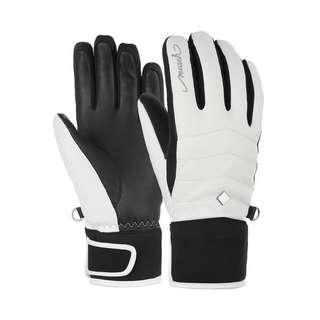 Reusch Thais Skihandschuhe white / black