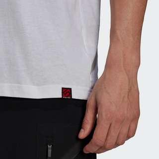 adidas Five Ten Brand of the Brave T-Shirt Funktionsshirt Herren Weiß
