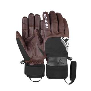 Reusch Jérémie Heitz Pro Model Skihandschuhe dark brown / black