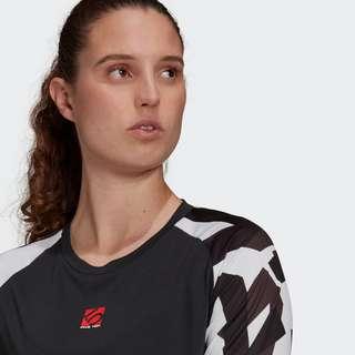 adidas Five Ten TrailX Longsleeve Langarmshirt Damen Schwarz