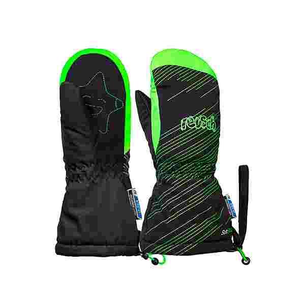 Reusch Maxi R-TEX® XT Mitten Outdoorhandschuhe Kinder black/green gecko