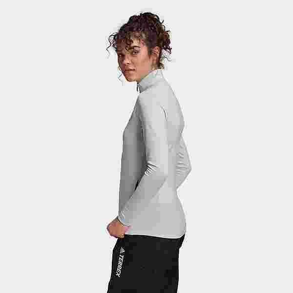 adidas TERREX Multi Primegreen Full-Zip Jacke Fleecejacke Damen Blau