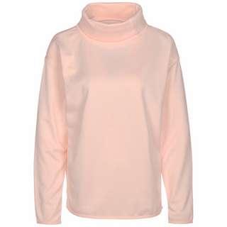 Under Armour Fleece Funnel Neck Sweatshirt Damen rosa