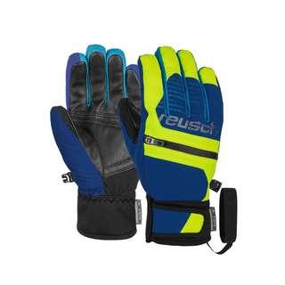 Reusch Theo R-TEX® XT Junior Skihandschuhe Kinder imper blue/safety yellow