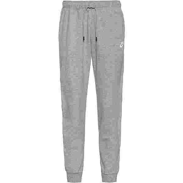 Nike NSW Sweathose Damen dk grey heather-white