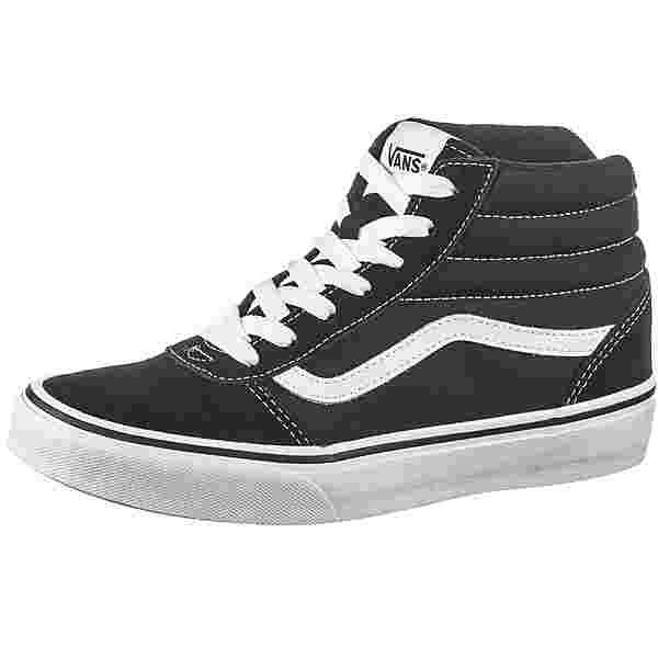 Vans WARD Sneaker Kinder black-white