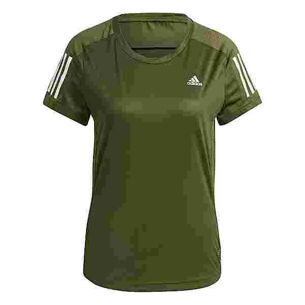 adidas OWN THE RUN RESPONSE AEROREADY Funktionsshirt Damen wild pine