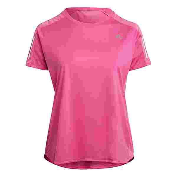 adidas OWN THE RUN Funktionsshirt Damen screaming pink