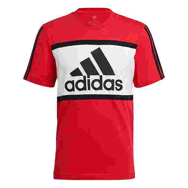 adidas Essentials T-Shirt Herren scarlet