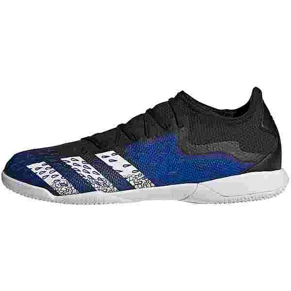 adidas PREDATOR FREAK .3 L IN Fußballschuhe core black-ftwr white-team royal blue