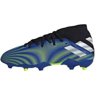 adidas NEMEZIZ .3 FG J Fußballschuhe Kinder team royal blue-ftwr white-solar yellow