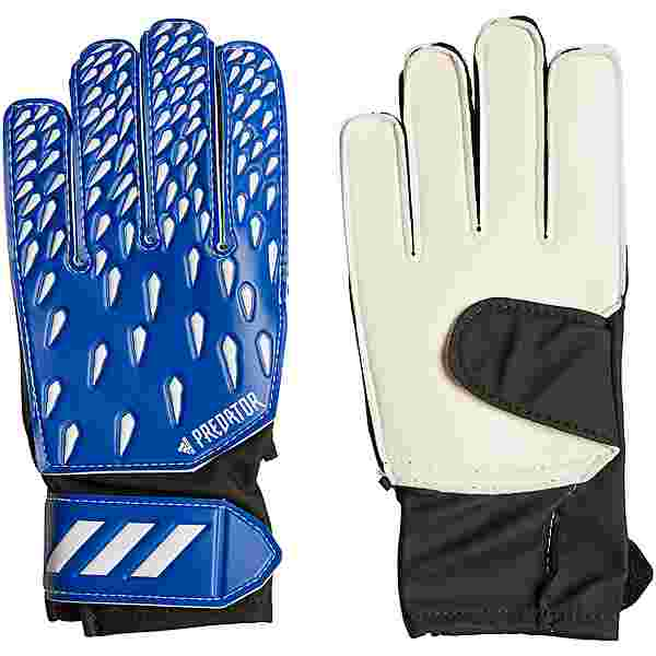 adidas Predator Training Torwarthandschuhe Kinder team royal blue-white-black