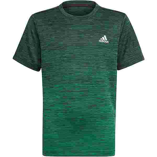 adidas AEROREADY PRIMEGREEN Funktionsshirt Kinder black green