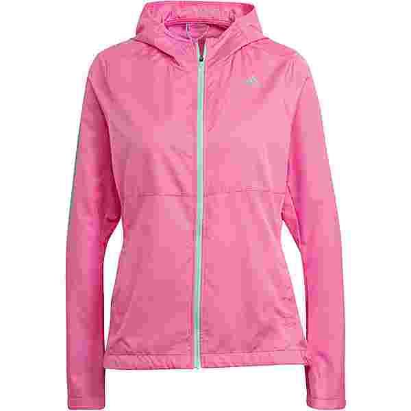 adidas OWN THE RUN RESPONSE Laufjacke Damen screaming pink