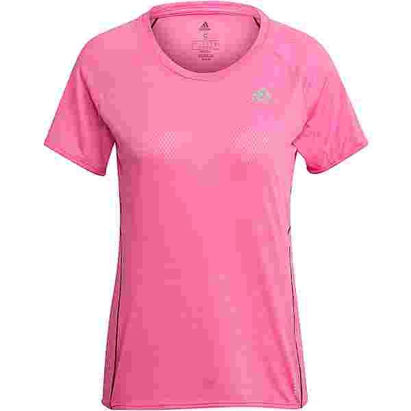 adidas ADI RUNNER SUPERNOVA AEROREADY Funktionsshirt Damen screaming pink