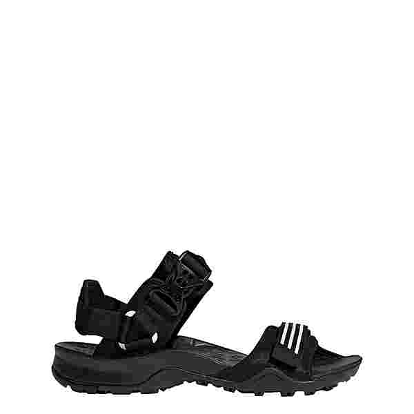 adidas TERREX Cyprex Ultra II DLX Sandale Sandalen Herren Core Black / Cloud White / Core Black
