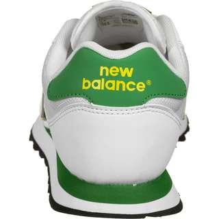 NEW BALANCE 500 Sneaker Herren weiß/gelb/grün
