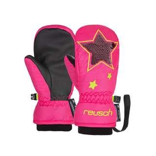 Reusch Halley R-TEX® XT Mitten Outdoorhandschuhe Kinder knockout pink/safety yell