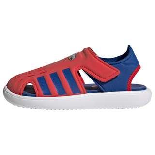 adidas Water Sandale Badelatschen Kinder Vivid Red / Royal Blue / Cloud White