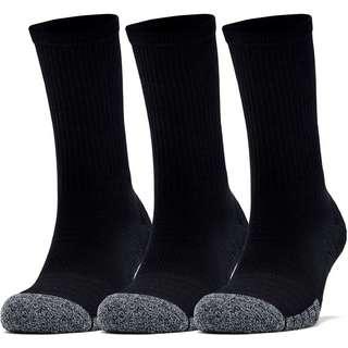 Under Armour Heatgear Crew Socken Pack black