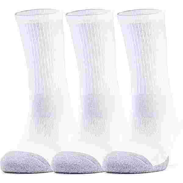 Under Armour Heatgear Crew Socken Pack white