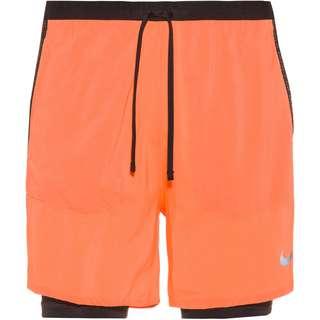 Nike Flex Stride Funktionsshorts Herren bright mango-black-reflective silv