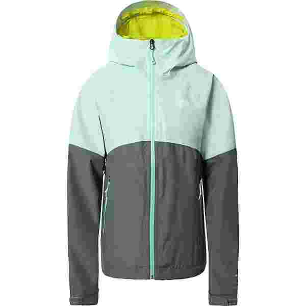 The North Face DIABLO DYNAMIC Regenjacke Damen misty jade/agave green