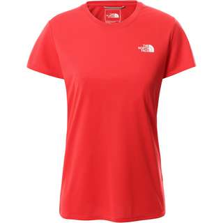 The North Face REAXION AMP CREW Funktionsshirt Damen HORIZON RED