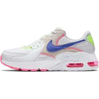 Nike Air Max Excee Sneaker Damen white-indigo burst-pink blast-volt