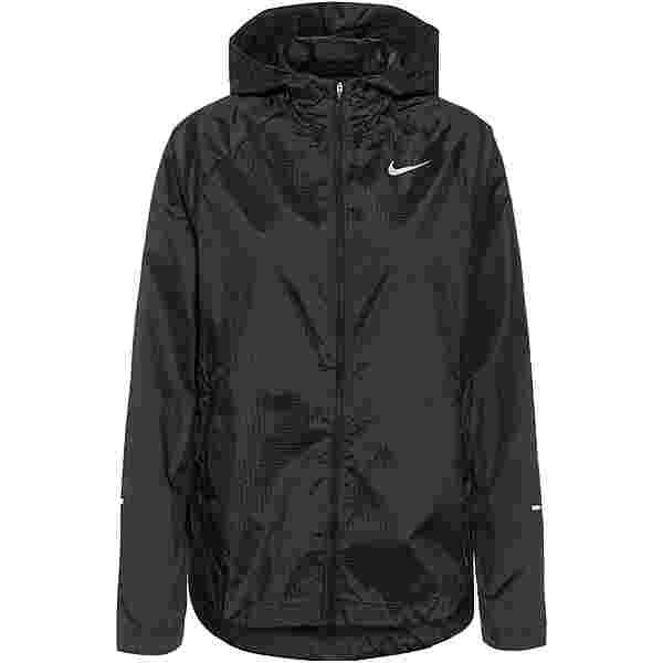 Nike Essential Run Division Laufjacke Damen black-reflective silv