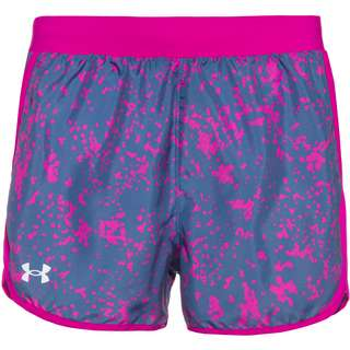 Under Armour Fly By 2.0 Funktionsshorts Damen blue